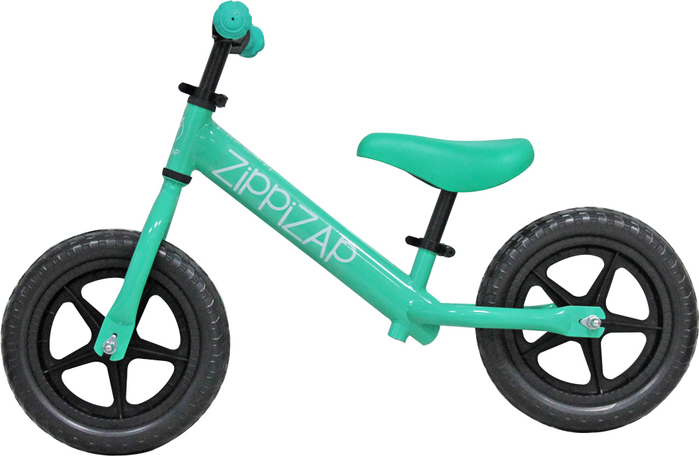 green zippziap balance bike