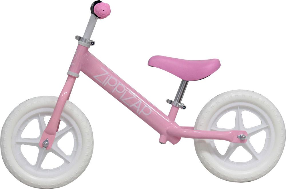 pink zippziap balance bike